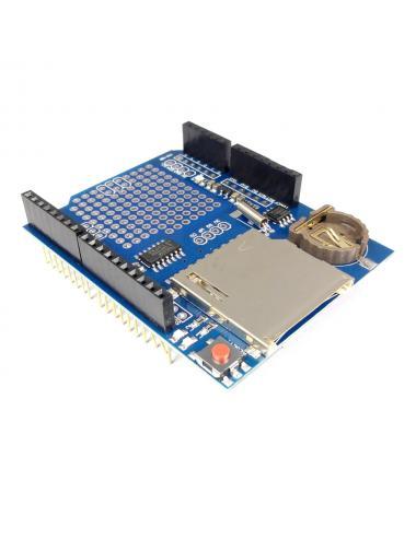 Shield DataLogger RTC DS1307 i SD dla arduino UNO rejestrator danych