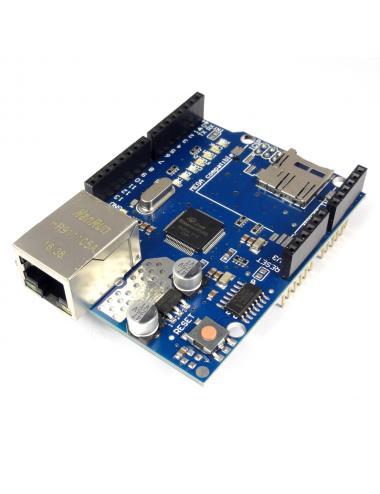 Ethernet Shield W5100 moduł sieciowy z microSD dla Arduino
