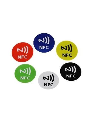 Kolorowe Tagi NFC 6 sztuk w zestawie