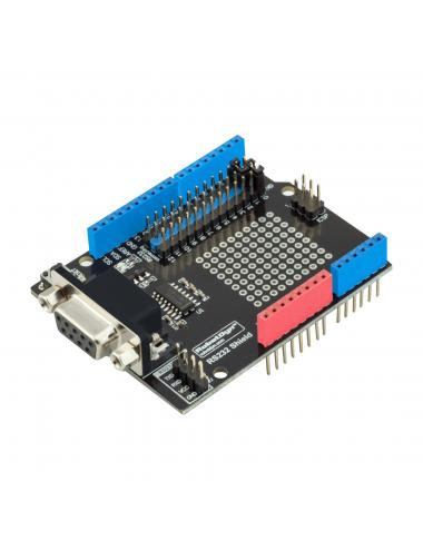 RobotDyn - nakładka RS232 Proto Shield Arduino na MAX232 DB9