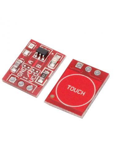 Przycisk dotykowy pojedynczy TTP223 14x11mm - Touch Sensor