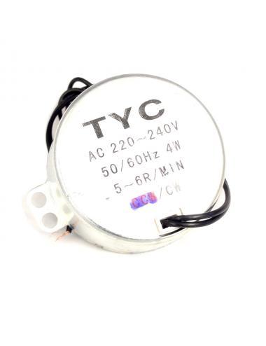 Silnik synchroniczny TYC-50 AC 230V 5/6RPM 50/60Hz 4W CW