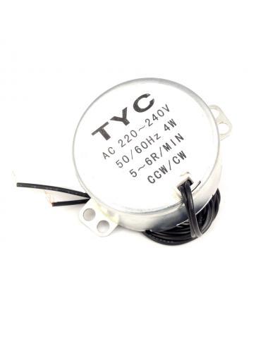 Silnik synchroniczny TYC-50 AC 230V 5/6RPM 50/60Hz 4W CW/CCW