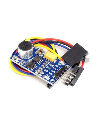 Moduł wzmacniacza mikrofonowego LM386 z mikrofonem czujnik dźwięku