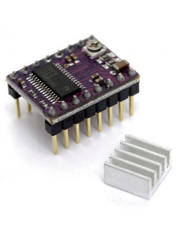 DRV8825 Sterownik silnika krokowego Stepstick + radiator