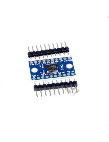 Konwerter poziomów logicznych TXB0108 8 kanałów