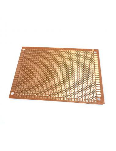 Płytka uniwersalna PCB 7x9 cm raster 2,54