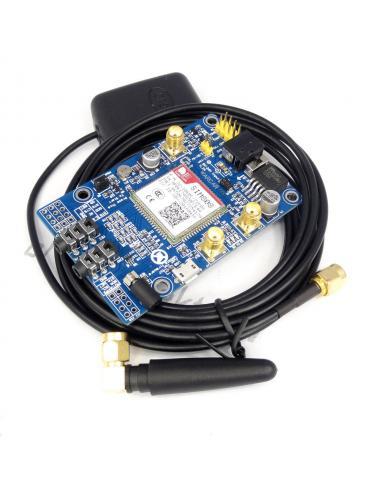 Moduł SIM808 GSM/GPRS/Bluetooth/GPS + anteny