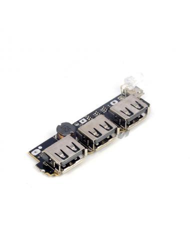 Moduł power banku 5v 2.1A 1A 3 x USB BMS