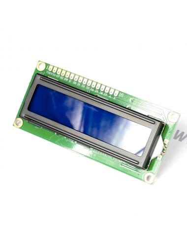 Wyświetlacz LCD 1602 16x2 niebieski HD44780