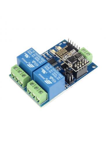 Moduł dwóch przekaźników z WiFi ESP-01 ESP8266