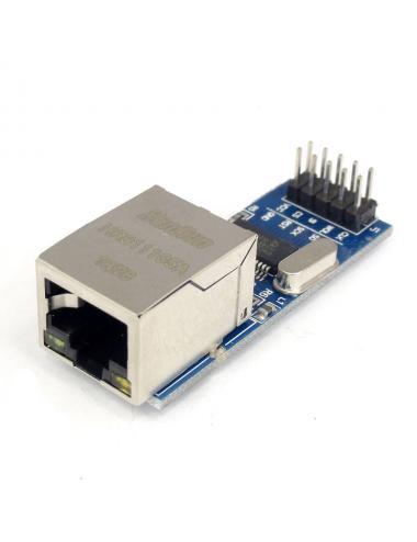 Moduł Ethernet mini układ ENC28J60 SPI RJ45 Arduino