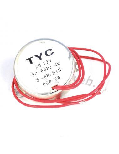 Silnik synchroniczny TYC-50 AC 12V 5/6RPM 50/60Hz 4W CW/CCW