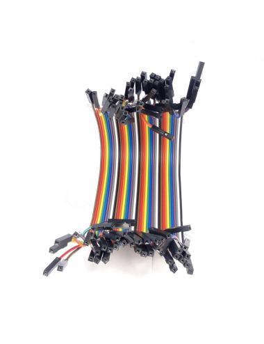 Przewody połączeniowe kable Arduino żeńsko-żeńskie 10 cm 40 sztuk