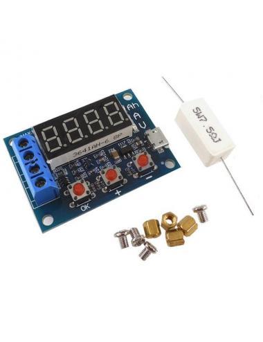 ZB2L3tester pojemności baterii akumulatora 1V-15V z rezystorem