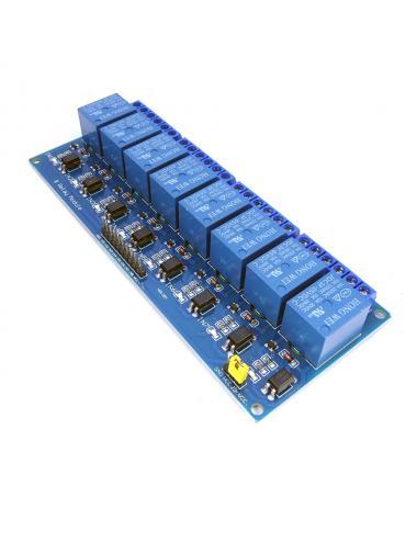 Przekaźnik 8 kanałowy LL 5V...