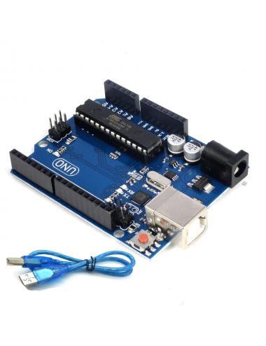 Arduino UNO R3 Atmel ATMega328 DIP wymienny klon