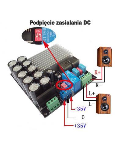 Wzmacniacz audio stereo...