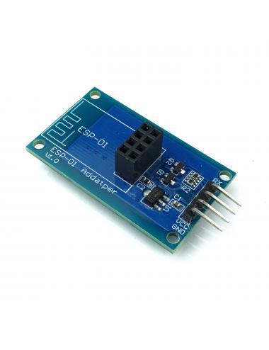 Adapter do ESP-01 i ESP-01S ESP8266 z regulatorem napięcia
