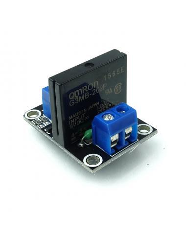 Przekaźnik 1 kanał SSR LL 2A/240V AC 1CH półprzewodnikowy