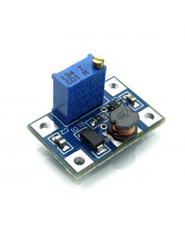 Przetwornica SX1308 step-up z potencjometrem 2V - 28V