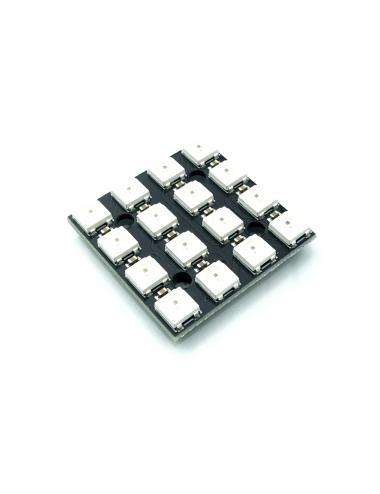 Moduł  matrycy 16 LED 4x4  WS2812B 5050 RGB NeoPixel