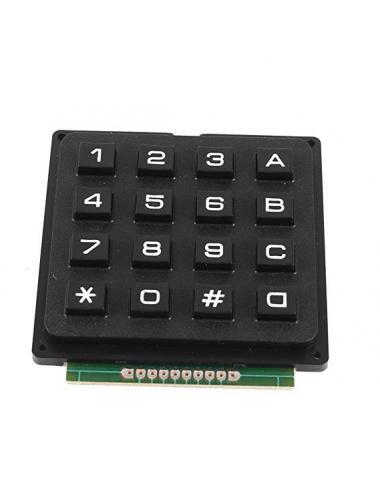 Klawiatura membranowa 4x4 16 przycisków gumowa 3V-5V