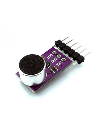 Wzmacniacz mikrofonowy MAX9812L + mikrofon CZN-15E