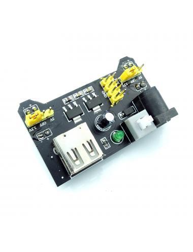 Zasilanie płytki stykowej MB-102 USB 3.3V 5V MB102