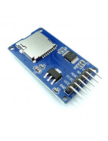 Moduł czytnika kart microSD Micro SD Arduino RPi