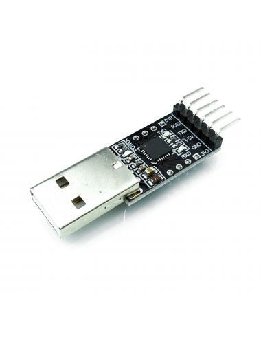 Konwerter USB-UART CP2102 TTL RS232 AVR