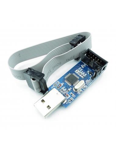 Programator ISP USBasp ATMEL AVR ATMEGA + taśma