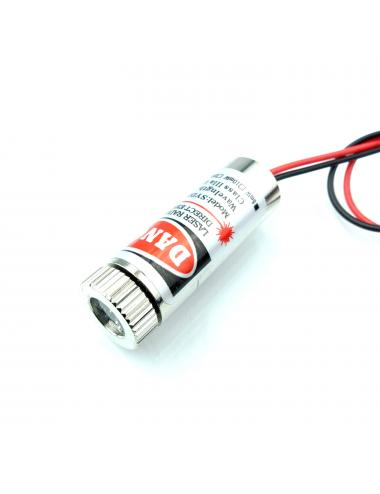 Dioda laserowa 650nm 5mW czerwona 5V laser krzyż