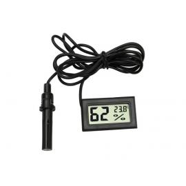 Cyfrowa sonda temperatury i wilgotności z wyświetlaczem termometr i higrometr