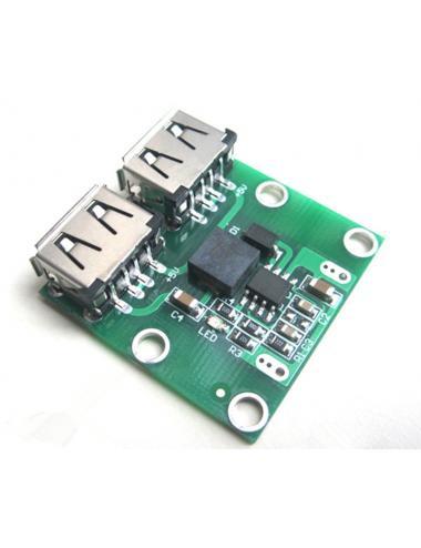 Przetwornica step-down 6V-24V na 5V 3A 2x USB ładowarka