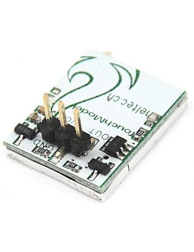 Przycisk dotykowy pojemnościowy niebieskie podświetlenie 2.7-6V HTTM