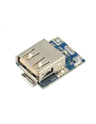 Ładowarka przetwornica step-up microUSB i USB 1A 5V 134n3p