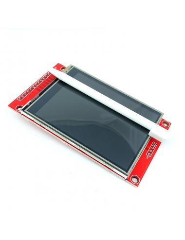 """Wyświetlacz LCD 2.8"""" 240x320 ILI9341 dotykowy slot microSD"""