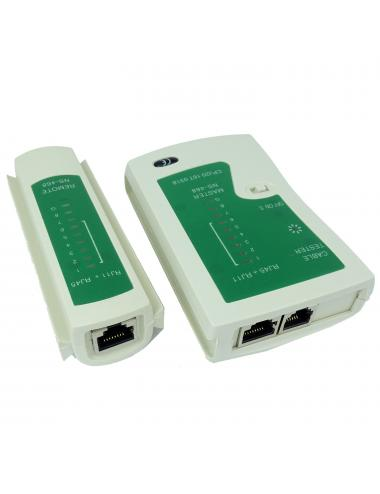 Tester sieci kabli sieciowych LAN RJ45 RJ11 RJ12