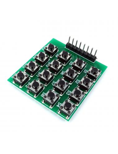 Klawiatura 4x4 z 16 przyciskami tact switch