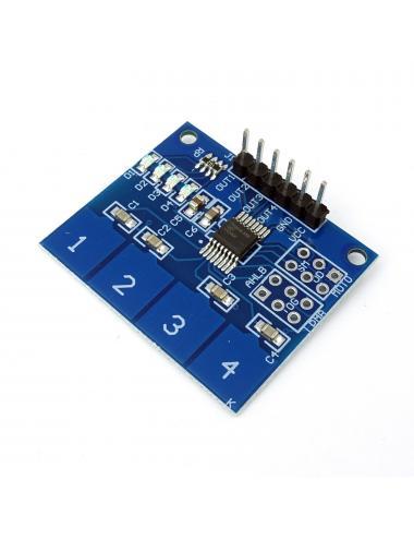 Moduł klawiatura pojemnościowa dotykowa TTP224 4 przyciski