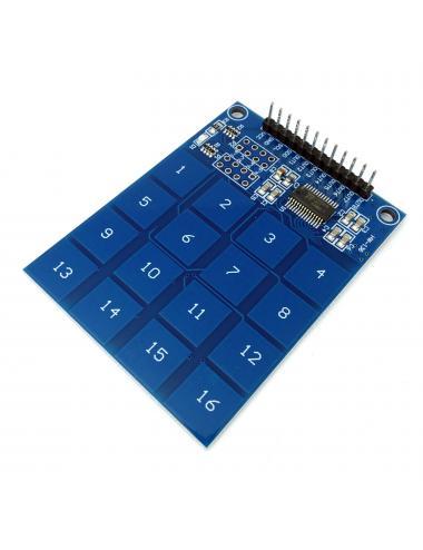 Moduł klawiatura pojemnościowa dotykowa TTP229 16 przycisków