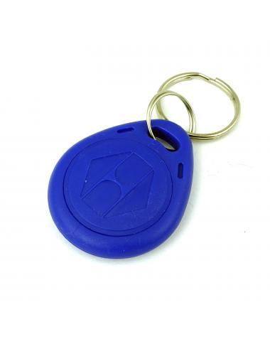 Brelok zbliżeniowy RFID programowalny 125KHz UNIQUE EM4305 Niebieski