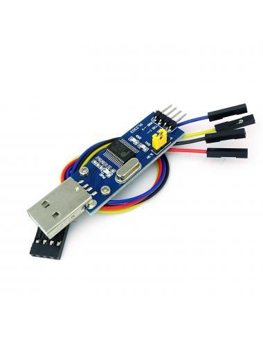 Przejściówka USB UART RS232 PL2303HX AVR zworka od napięcia