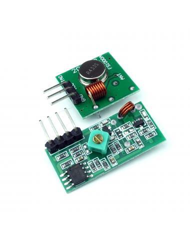 Moduł komunikacji RF 315 MHz nadajnik i odbiornik