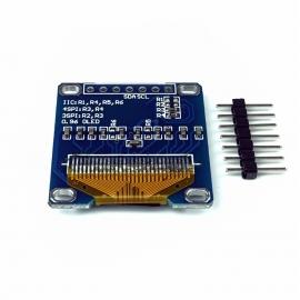 """Wyświetlacz OLED 128x64 0,96"""" biały I2C SPI SH1106"""