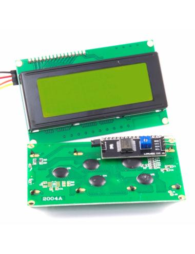 Wyświetlacz LCD 2004 z konwerterem I2C HD44780