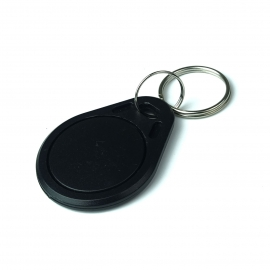Brelok zbliżeniowy RFID programowalny 125KHz UNIQUE EM4305 Czarny