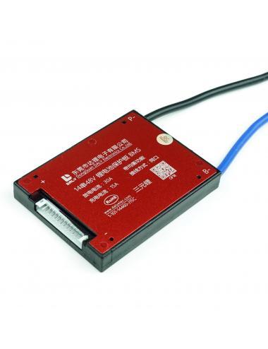 Moduł ładowania BMS 14S 30A 51.8V balanser IP67 wspólny port ładowania