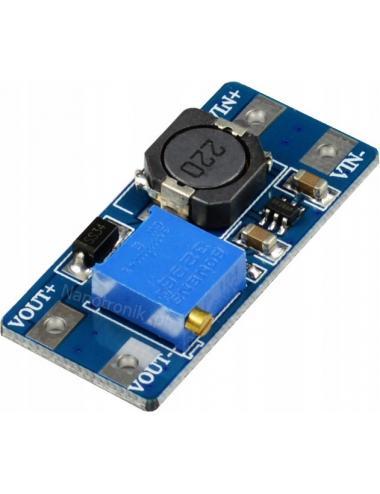 Przetwornica MT3608 4-28V 2A step-up Arduino regulacja